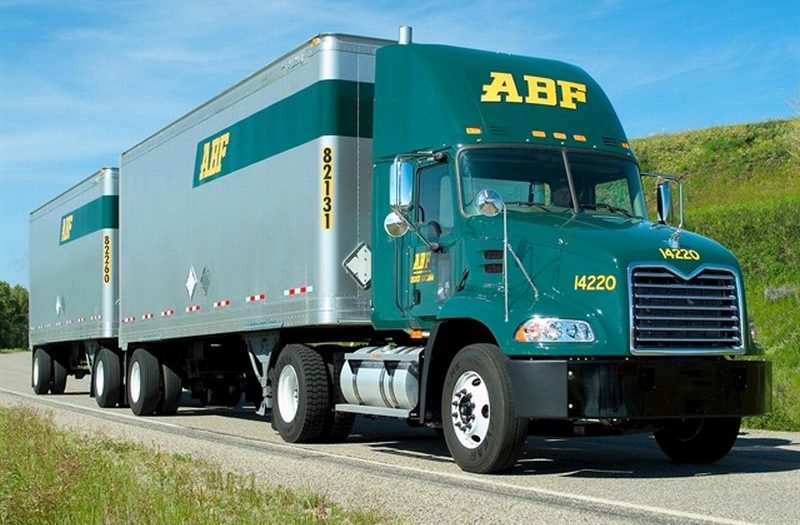 ABF Freight Mack CXU612 with Doubles | Trucks, Buses