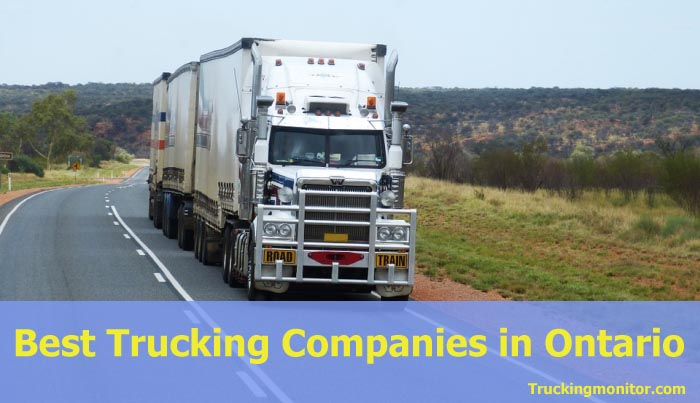 Best 10 Trucking Companies in Ontario